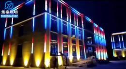 酒店餐厅亮化工程户外楼宇亮化楼体亮化工程