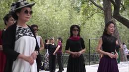 祝福祖国   广场舞   北京紫竹院公园