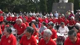建国70周年,合唱团唱【铁道游击队】领唱李志红,王金英。