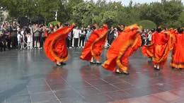 庆建国70周年,舞蹈欢聚一堂,刘翠芝,王金英等表演,遇鸿雁摄