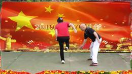 建国70周年国庆空竹双人舞展播