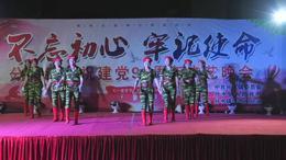 15分水镇庆祝建党98周年文艺汇演—紫蓝队《绽放的军中绿花》