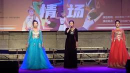 表演唱《我爱你中国》演唱者  南京市职工老年大学演唱班