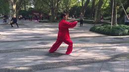 武式四十六式太极拳竞赛套路  演练陈庆琳