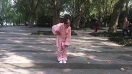健身气功导引养生功十二法  演练陈庆琳