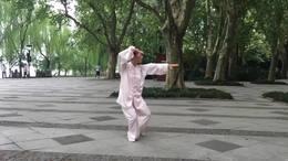 陈式太极拳老架一路  演练陈庆琳 09 19 2020