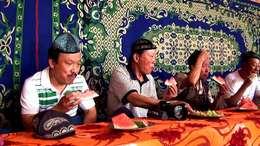 回眸2011年赴新疆采风影像之三 体验维族民俗