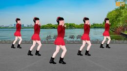 九寨沟的春天广场舞