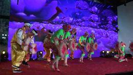 丰收歌集体舞蹈原创视频