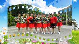 杭州千岛湖中洲镇札溪村广场舞 对面的小姐姐 制作开心 舞