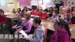 美国小学生唱武汉加油