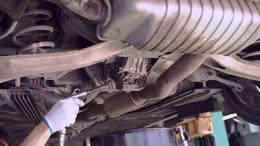 奔驰A45更换安索75W140差速器油PAKELO帕克龙0W40机油