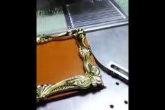 全自动视觉相框点钻机  相框烫钻机
