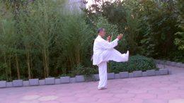 贾廷义示范杨式传统40式太极刀