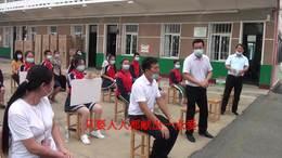 爱心企业家捐赠空调,口罩情暖农村小学