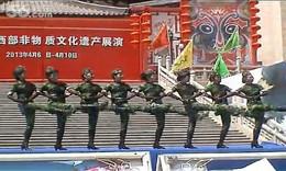 时装表演《军中姐妹》—陕西省中国风艺术团在大唐西市的表演