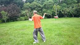 杨浦周端海老师反弹琵琶动作展示