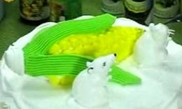 王森艺术蛋糕制作视频属相-鼠