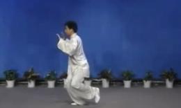 武式太极拳竞赛套路正面示范 张晓欧