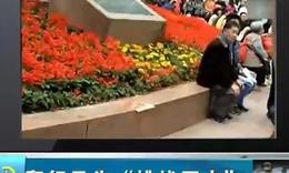 《午间道》 重庆一公司员工跪地爬行
