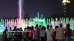 湖南喷泉厂家喜马拉雅喷泉承建水幕激光电影音乐喷泉