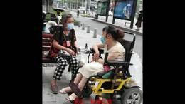 """武汉""""轮椅红娘"""""""