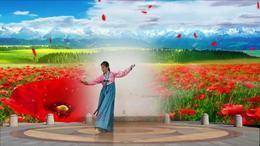 岳阳紫雨朝鲜舞习舞《金达莱盛开的地方》
