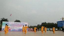 参加首届国家社会体育技能大赛