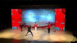 花棍集体展示《我和我的祖国》
