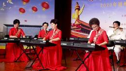 电子琴合奏《我的祖国》