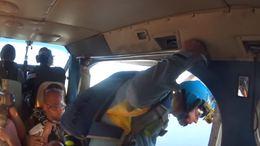 泰国芭提雅跳伞
