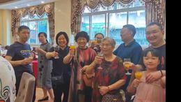 舅娘80岁生日宴