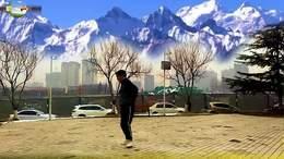 晋城空竹 竹舞影声 2021抖空竹《随练四》