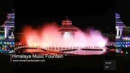 湖南喷泉生产厂家 专业的喷泉公司设计安装的印度金奈音乐喷泉