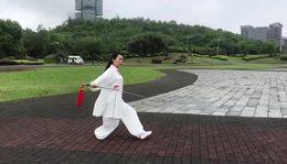 李杰习练42式太极剑