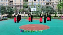 南京博恩百合舞队广场舞《卓玛》