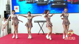 郑州比亚迪艺术团 新车展销会公益活动 精彩动感舞蹈