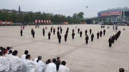 2021年全国老年人太极拳推广大联动汉滨区展