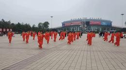 2021年安康市直木兰太极分会展演37式杨式太极拳