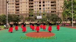 南京博恩百合舞队广场舞《凤凰飞》