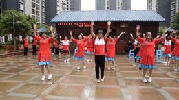 金座福城广场舞《好运来》