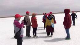青海吉乃尔天然盐湖