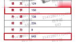 河南高考数学满分女孩妈妈回应:没啥秘籍 也没上过补习班