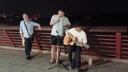 大渡河畔的月夜,太美了