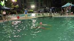 学游泳的第20天20210827五I