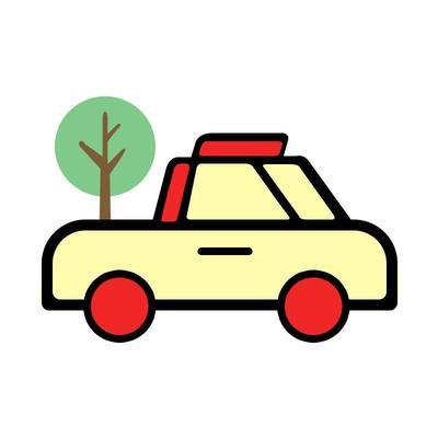 小樹玩具車