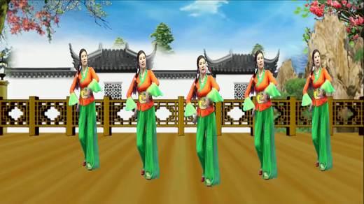 糖豆官方认证高级舞队铜韵广场舞《天上掉下个林妹妹》