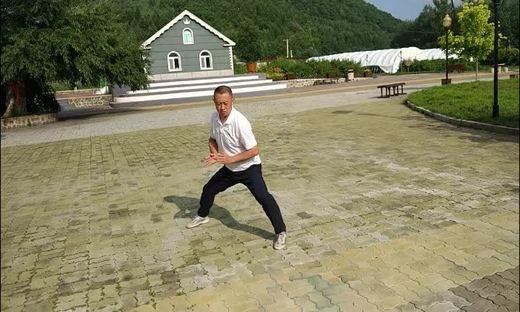 马虹大师弟子刘斌传统陈式太极拳83式 2018年7月19日