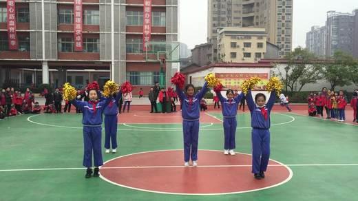 实验小学六年级1310班篮球比赛啦啦操《快乐的歌》