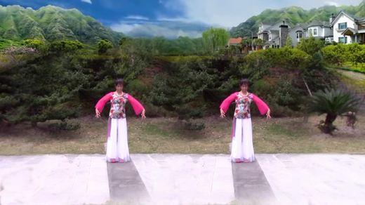 安昌海广场舞《玉茗花开》编舞:应子老师:演示:安昌海